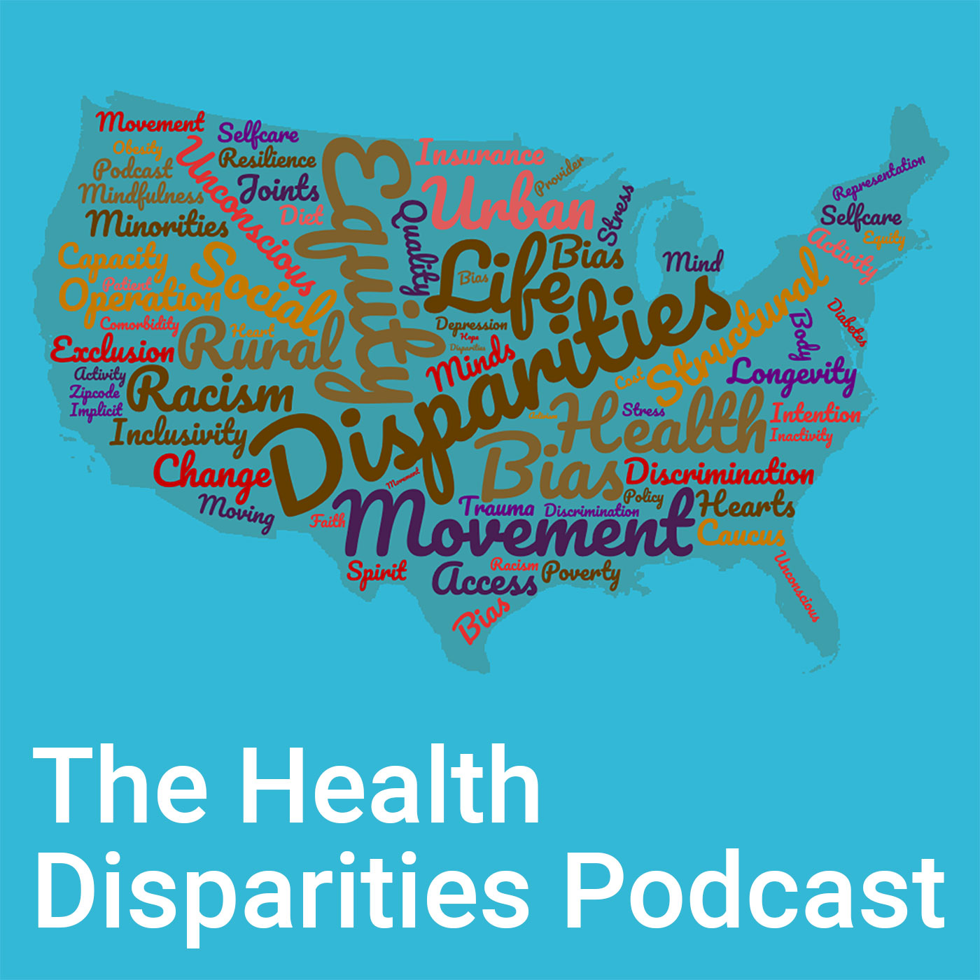 The Health Disparities Podcast podcast show image